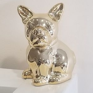 Other - 2/ $12 Gold french bulldog home decor ornament